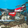 Honda 125cc 2016 Red